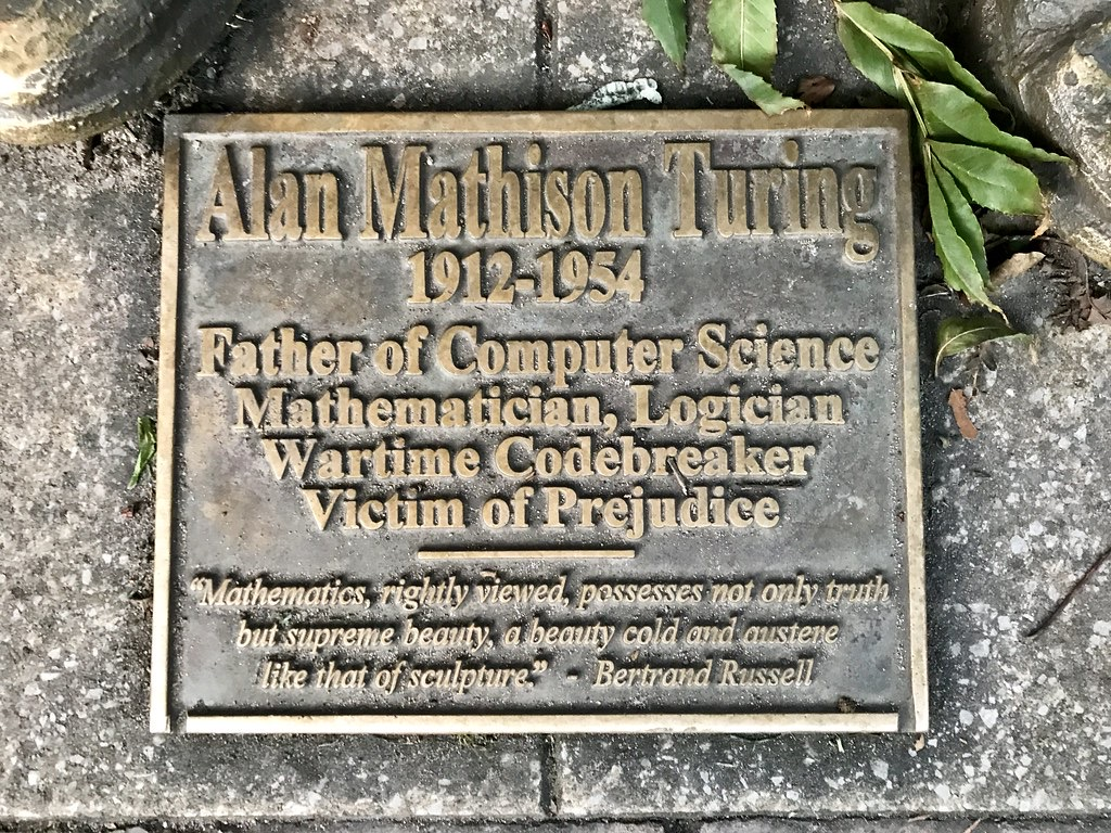 Alan Turing is my cousin!